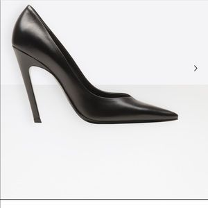 New Balenciaga Slash Heel Women Pumps